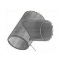 Platine d'assemblage pour poteaux rectangulaires et ronds